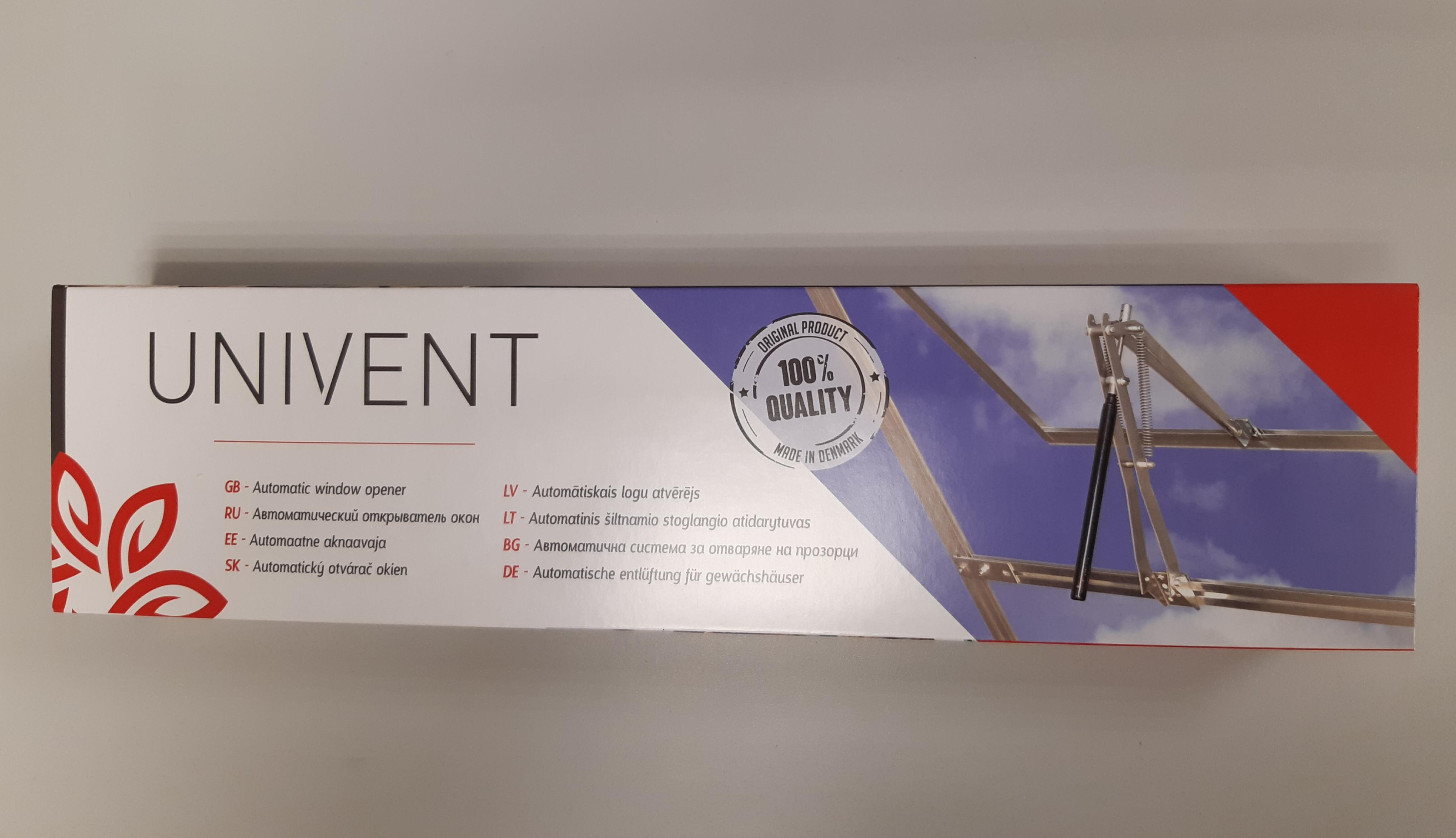 Автомат проветривания теплиц UNIVENT